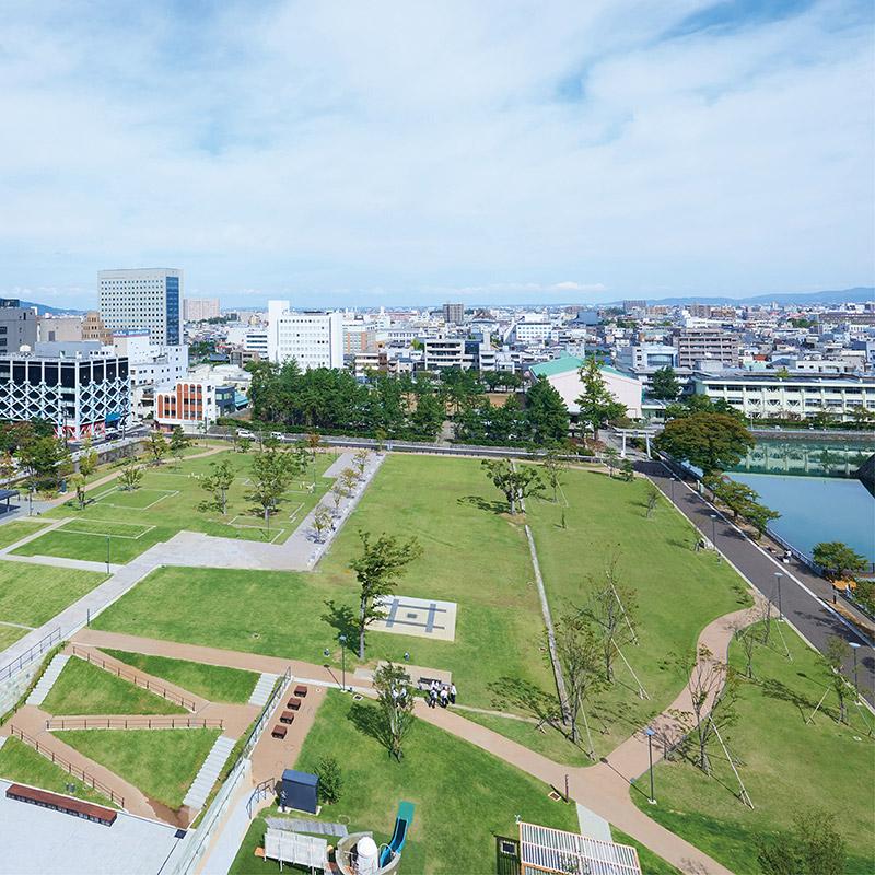 福井市中央公園イメージ